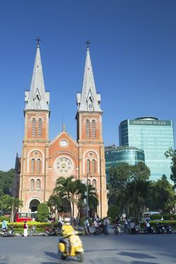 Notre Dame Cathedral, Ho Chi Minh City, Vietnam, Indochina, Southeast Asia, Asia by Ian Trower