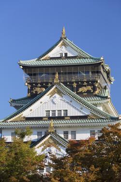Osaka Castle, Osaka, Kansai, Japan by Ian Trower
