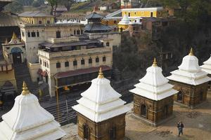 Pashupatinath Temple, UNESCO World Heritage Site, Kathmandu, Nepal, Asia by Ian Trower