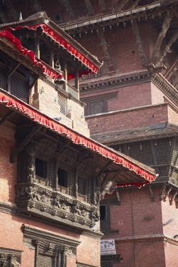 Patan Museum, Durbar Square, Patan, UNESCO World Heritage Site, Kathmandu, Nepal, Asia by Ian Trower
