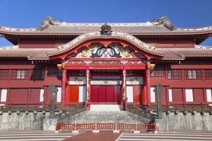 Shuri Castle, UNESCO World Heritage Site, Naha, Okinawa, Japan, Asia by Ian Trower
