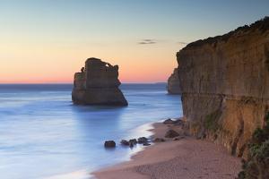 Stacks of Twelve Apostles at Gibson Steps, Australia by Ian Trower