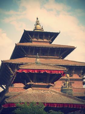 Taleju Temple, Durbar Square, Patan (UNESCO World Heritage Site), Kathmandu, Nepal by Ian Trower