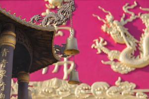 Ten Thousand Buddhas Monastery, Shatin, New Territories, Hong Kong, China, Asia by Ian Trower