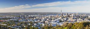 View of Auckland from Mount Eden, Auckland, North Island, New Zealand by Ian Trower