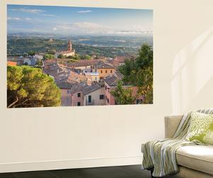 View of Church of Santa Giuliana, Perugia, Umbria, Italy by Ian Trower
