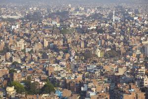 View of Kathmandu, Nepal, Asia by Ian Trower