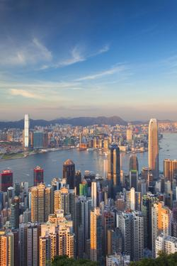 View of Kowloon and Hong Kong Island from Victoria Peak, Hong Kong by Ian Trower