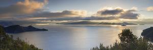 View of Lugu Lake at dawn, Yunnan, China, Asia by Ian Trower