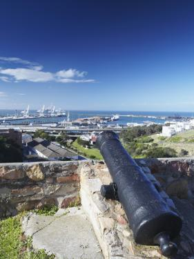 View of Port Elizabeth from Fort Frederick, Port Elizabeth, Eastern Cape, South Africa by Ian Trower