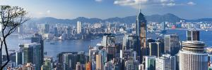 View of Wan Chai and Kowloon, Hong Kong by Ian Trower