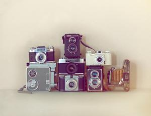 Camera Collection by Ian Winstanley