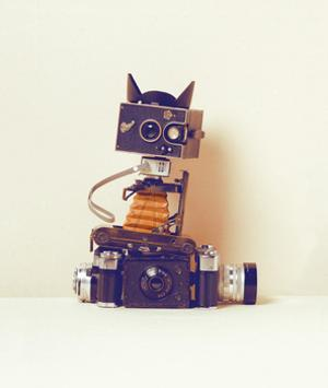 Robot Cat by Ian Winstanley