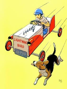 Matchbox Race - Jack and Jill, July 1958 by IBJ