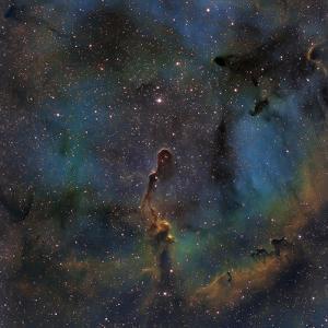 Ic 1396, the Elephant Trunk Nebula