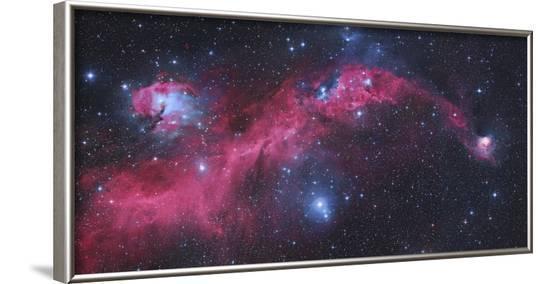 Ic 2177, the Seagull Nebula-Stocktrek Images-Framed Photographic Print