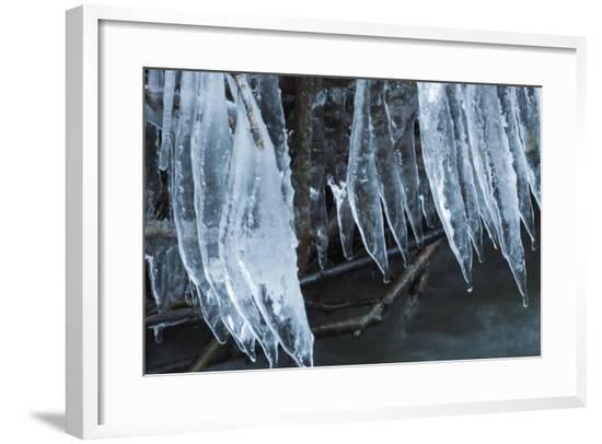 Ice Cicles Over Beaver Dam-Anthony Paladino-Framed Giclee Print