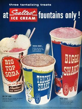 Ice Cream Ad, 1955