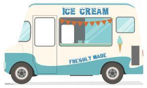 Ice Cream Truck Stand-In