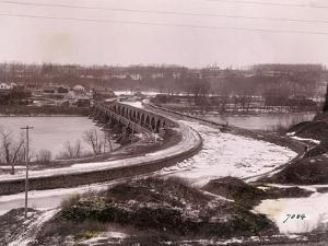 Ice Jam in Erie Canal