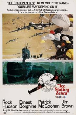ICE STATION ZEBRA, US poster, 1968
