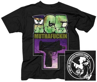 Ice T- Muthafuckin Uzi (Front/Back)