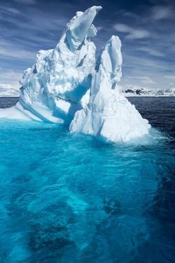 Iceberg, Gerlache Strait, Antarctic Peninsula