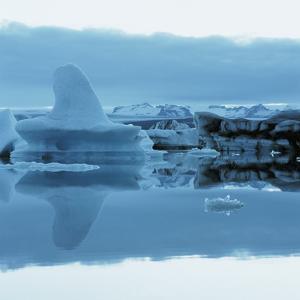 Iceberg Shaped Like a Whale Fin
