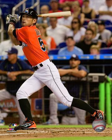 Ichiro Suzuki 2015 Action