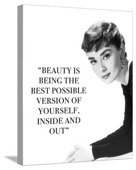 Iconic Inspiration - Beauty-The Chelsea Collection-Stretched Canvas