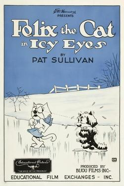 Icy Eyes, Peaches, Felix the Cat on US poster art, 1927