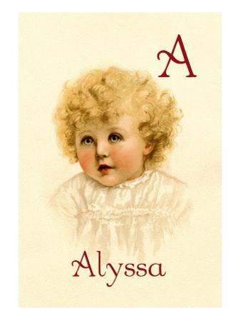 A for Alyssa