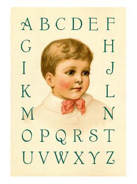 Big Boy's Alphabet by Ida Waugh