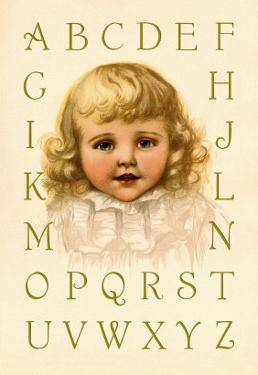 Big Girl Alphabet by Ida Waugh