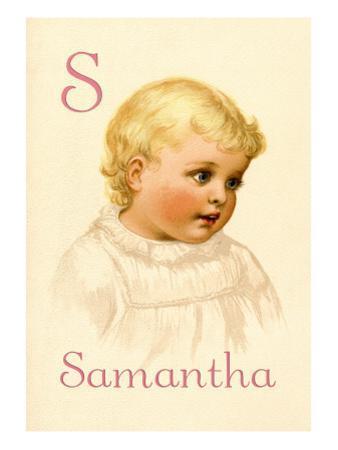 S for Samantha
