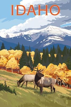 https://imgc.allpostersimages.com/img/posters/idaho-elk-and-mountains_u-L-Q1GQH260.jpg?p=0