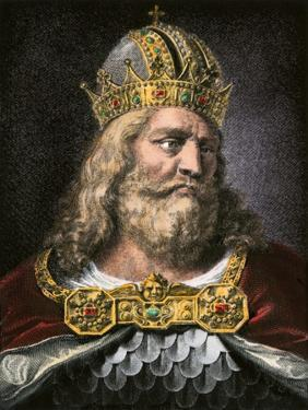Idealized Portrait of Charlemagne