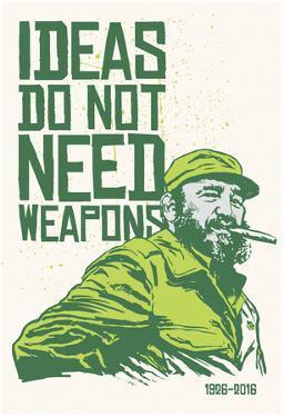 Ideas Not Weapons - Verde