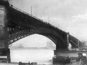 The Eads Bridge by Ido Von Reden