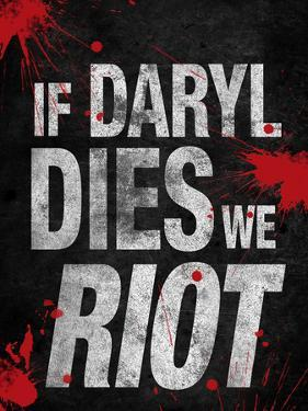 If Daryl Dies We Riot Television