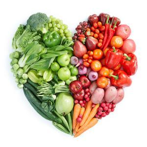 Green And Red Healthy Food by ifong