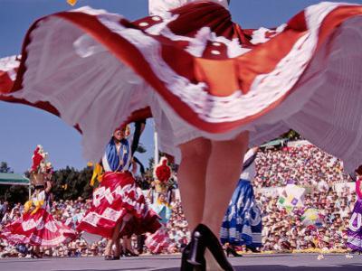 Traditional Dances, Prehispanic Festival of La Guelaguetza, Oaxaca, Mexico