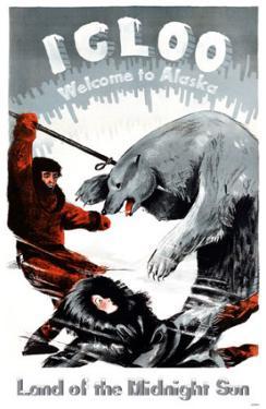 Igloo Welcome to Alaska