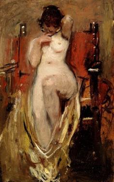 Female Nude, 1894 by Ignacio Pinazo camarlench