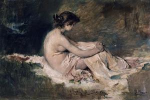 Female Nude, 1902 by Ignacio Pinazo camarlench