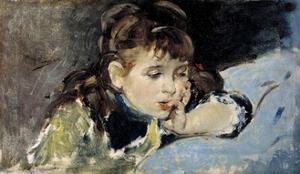 Little Girl, 1890-1895 by Ignacio Pinazo camarlench