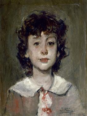 The Artists Son, Ignacio, 1892 by Ignacio Pinazo camarlench