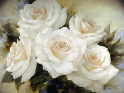 White Roses III by Igor Levashov