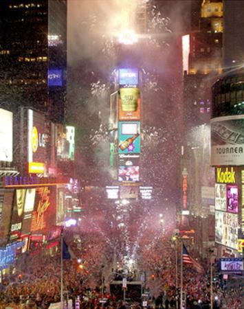 New Year's Eve in Times Square by Igor Maloratsky
