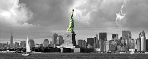 Statue of Liberty, New Downtown Panora by Igor Maloratsky